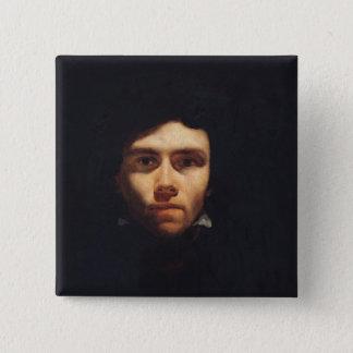 Portrait of Eugene Delacroix  c.1818-19 Button