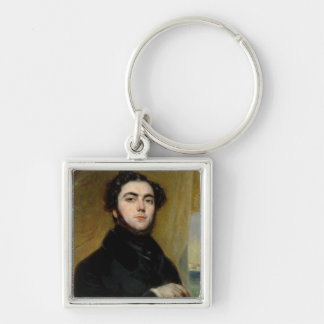 Portrait of Eugene Sue  1837 Keychain