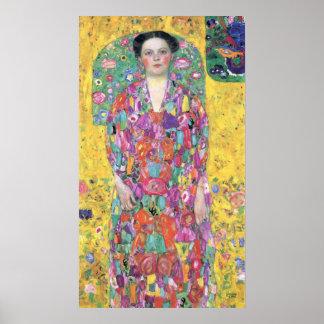 Portrait of Eugenia (Mäda) Primavesi by Klimt Posters