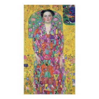 Portrait of Eugenia (Mäda) Primavesi by Klimt Print