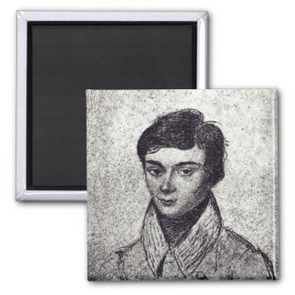 Portrait of Evariste Galois Magnet