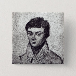 Portrait of Evariste Galois Pinback Button