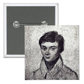 Portrait of Evariste Galois Pinback Button