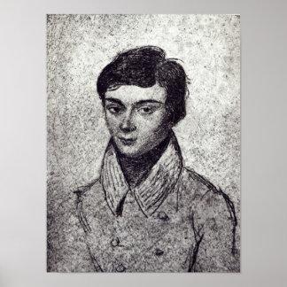 Portrait of Evariste Galois Poster