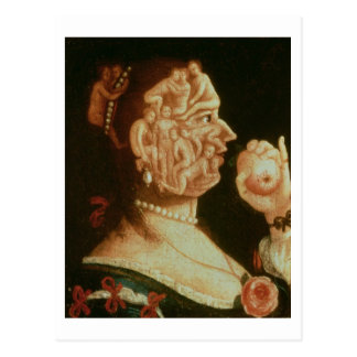 Portrait of Eve (oil) Postcard