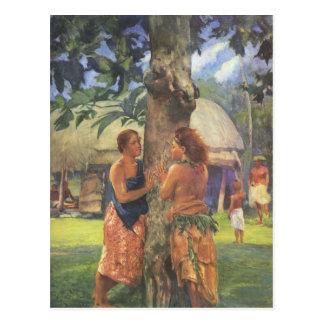 'Portrait of Faase' - John LaFarge Postcard