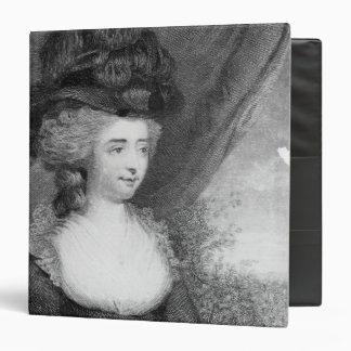 Portrait of Fanny Burney   pub. by Henry Binder