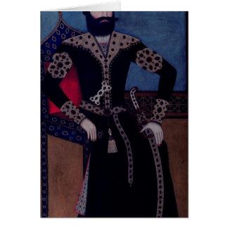 Portrait of Fath-Ali, Shah of Iran , Card