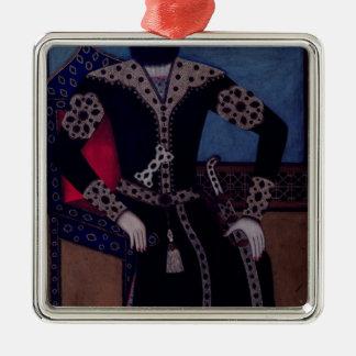 Portrait of Fath-Ali, Shah of Iran , Metal Ornament
