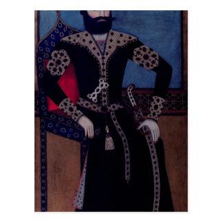 Portrait of Fath-Ali, Shah of Iran , Postcard