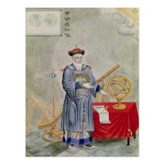 Portrait of Father Ferdinand Verbiest Postcard