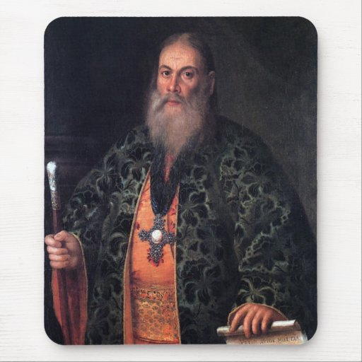 Portrait of Father Fyodor Dubyansky Mouse Pad