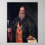 Portrait of Father Fyodor Dubyansky Print