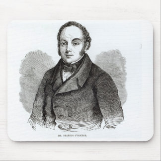 Portrait of Feargus O'Connor Mouse Pads