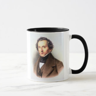 Portrait of Felix Mendelssohn (1809-47) (litho) Mug