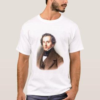 Portrait of Felix Mendelssohn (1809-47) (litho) T-Shirt