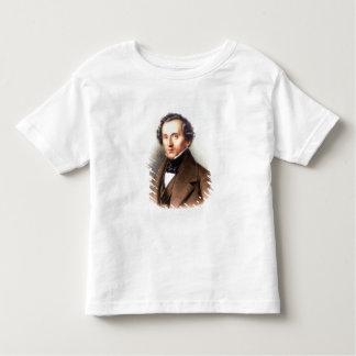 Portrait of Felix Mendelssohn (1809-47) (litho) Tees
