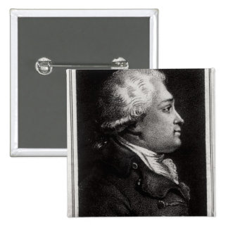 Portrait of Felix Vicq d'Azyr Pinback Button