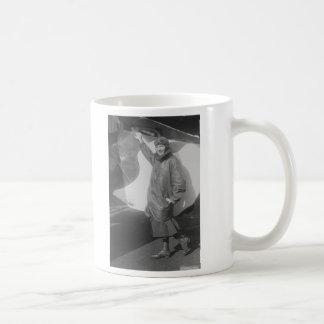 Portrait of Female Aviator Marjorie Stinson Classic White Coffee Mug