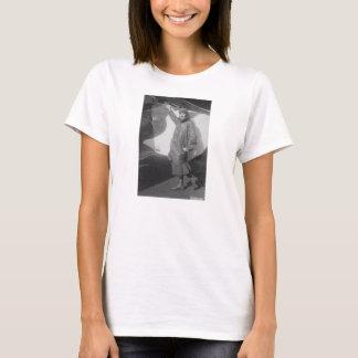 Portrait of Female Aviator Marjorie Stinson T-Shirt