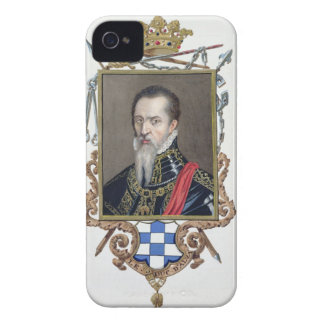 Portrait of Ferdinand Alvarez de Toledo Duke of Al iPhone 4 Case-Mate Cases