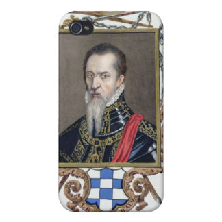 Portrait of Ferdinand Alvarez de Toledo Duke of Al iPhone 4 Case