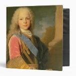 Portrait of Ferdinand de Bourbon 3 Ring Binder