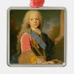 Portrait of Ferdinand de Bourbon Metal Ornament