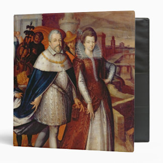 Portrait of Ferdinand I  and his Niece Binders