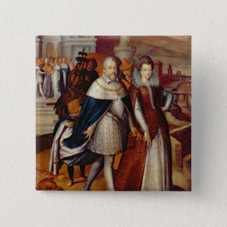 Portrait of Ferdinand I  and his Niece Button
