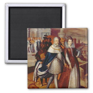 Portrait of Ferdinand I  and his Niece Magnet