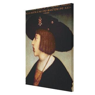 Portrait of Ferdinand I, Holy Roman Emperor Canvas Print