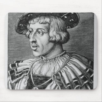 Portrait of Ferdinand I of Habsburg, 1531 Mouse Pad