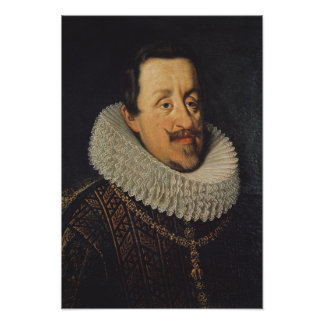 Portrait of Ferdinand II  of Habsbourg, 1622-37 Print