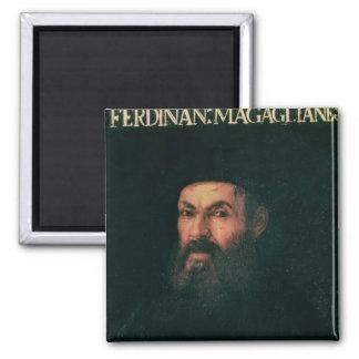 Portrait of Ferdinand Magellan Refrigerator Magnets