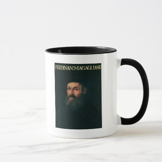 Portrait of Ferdinand Magellan Mug