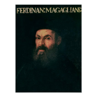 Portrait of Ferdinand Magellan Poster