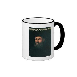 Portrait of Ferdinand Magellan Ringer Mug