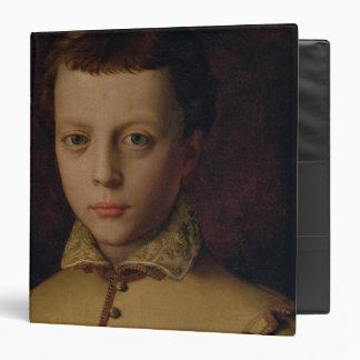 Portrait of Ferdinando de' Medici 3 Ring Binder