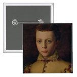 Portrait of Ferdinando de' Medici 2 Inch Square Button