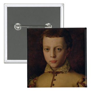 Portrait of Ferdinando de' Medici Pinback Button
