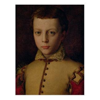 Portrait of Ferdinando de Medici Postcard