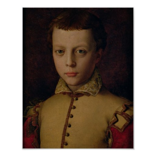 Portrait of Ferdinando de' Medici Poster