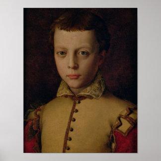 Portrait of Ferdinando de' Medici Print