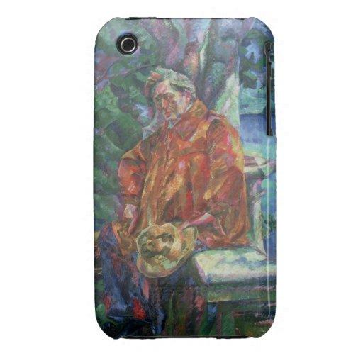 Portrait of Ferruccio Busoni (1866-1924) 1916 (oil iPhone 3 Case-Mate Case