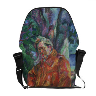 Portrait of Ferruccio Busoni (1866-1924) 1916 (oil Messenger Bag