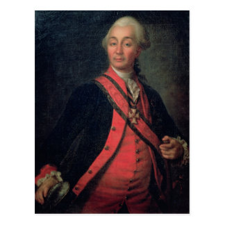 Portrait of Field Marshal Generalissimo Postcard