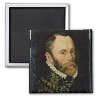 Portrait of Filips van Montmorency 2 Inch Square Magnet