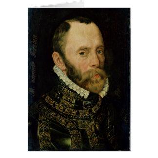 Portrait of Filips van Montmorency Greeting Card