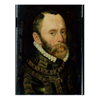 Portrait of Filips van Montmorency Postcard